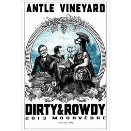 DIRTY & ROWDY DIRTY & ROWDY ANTLE VINEYARD MOURVEDERE 2013 750 mL
