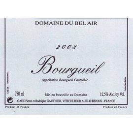 DOMAINE BEL AIR DOMAINE DU BEL AIR BOURGUEIL CABERNET FRANC 2013 750 mL