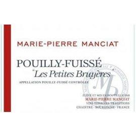 MANCIAT MANCIAT POUILLY FUISSE LES PETITES BRUYERES 2013 750 mL