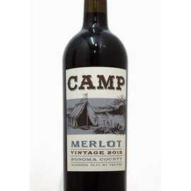 HOBO WINE CO HOBO WINE CO CAMP MERLOT 2015 750 mL