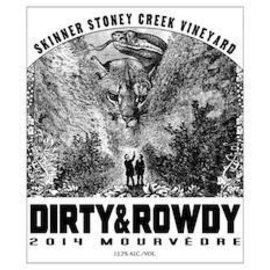 DIRTY & ROWDY DIRTY & ROWDY SKINNER STONEY CREEDK MOURVEDRE  2015 750ML
