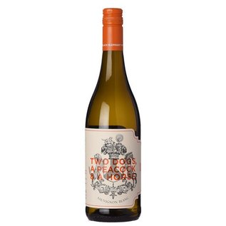 BLACK ELEPHANT VINTNERS TWO DOGS A PEACOCK & A HORSE SAUVIGNON BLANC 2016 750 mL