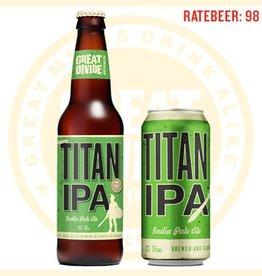 Great Divide TITAN IPA 12oz 6 Pack Long Neck Bottle
