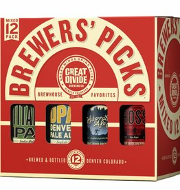 Great Divide Brewers Pick Variety 12oz 12 Pack Bottle