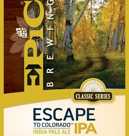 Epic Escape to Colorado IPA 12oz 6 Pack Can