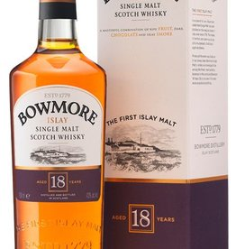 Bowmore Islay 18Yr Single Malt Scotch Whisky 750mL
