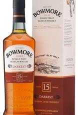 Bowmore Darkest Sherry Cask Finish 15Yr Scotch 750mL