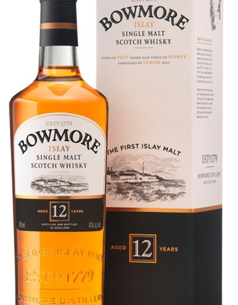 Bowmore Islay 12Yr Single Malt Scotch Whisky 750mL