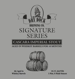 Dry Dock Signature Series Cascara Imp Stout 220z Bottle