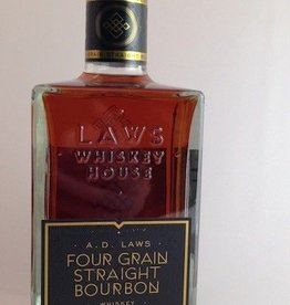 Laws Four Grain Straight Bourbon 750mL