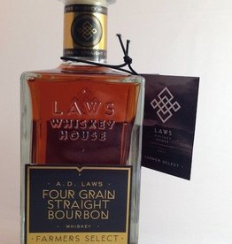 Laws Farmers Select Four Grain Straight Bourbon 750mL