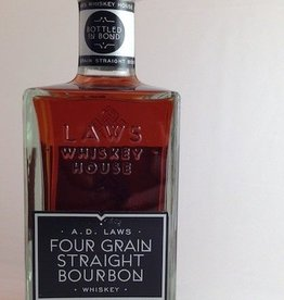 Laws Bottled in Bond Four Grain Straight Bourbon 750mL
