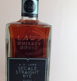 Laws Bottled In Bond Secale Straight Rye Whiskey 750mL