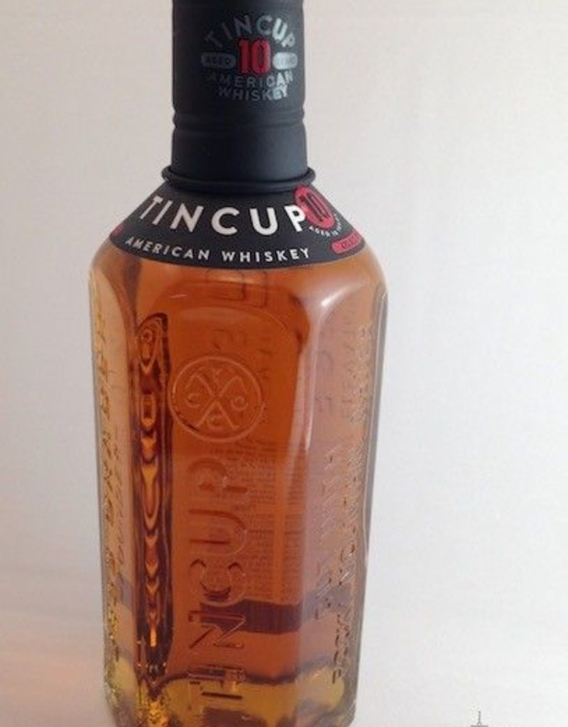 Tin Cup 10 Year Whiskey Colorado 750mL