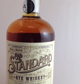 Old Town Distilling Traditional Small Batch Old Standard Rye Whiskey 750mL