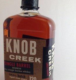 Knob Creek Single Barrel Reserve Bourbon Whiskey 120Proof