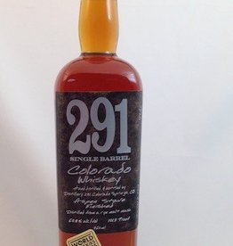 Distillery 291 Single Barrel Colorado Whiskey 750mL