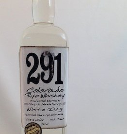 Distillery 291 Colorado Rye White Dog Whiskey 750mL