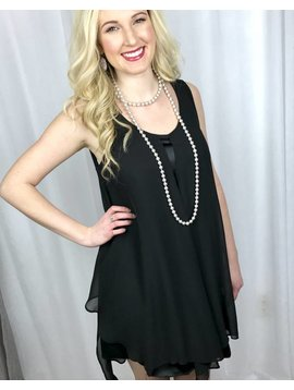 Black Night Out with The Girls Dress