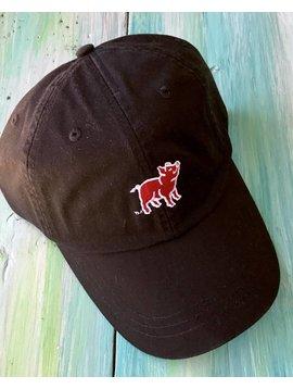 SouthernTrend Black Pig Hat
