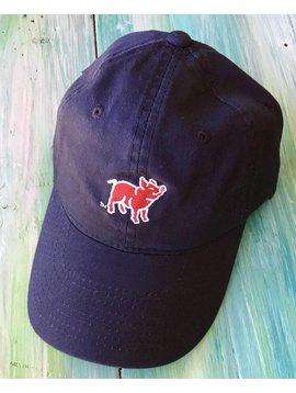Navy Pig Hat
