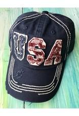 Blue USA Ball Cap