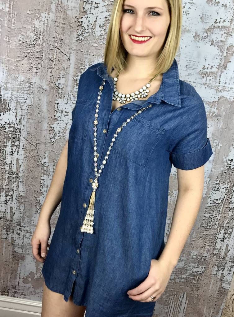 Denim Country Dress
