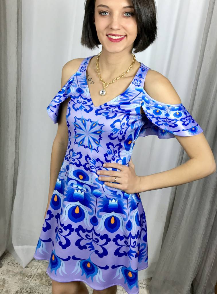 Floral Late Evening Dress- SALE ITEM