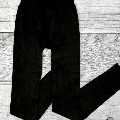 Black Seamless Long Leggings
