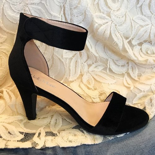 Black Heel Sandal