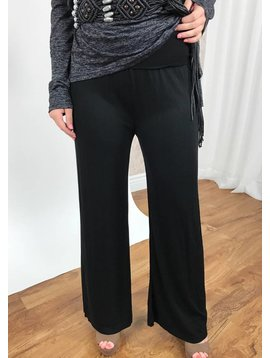 Black Loose Fit Baggy Pants