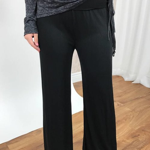 Black Loose Fit Baggy Pants