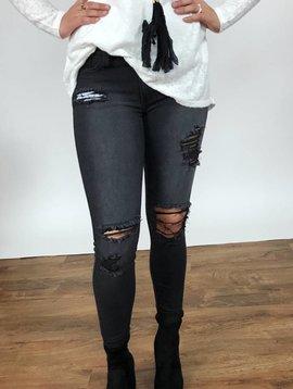 JB Black Light Wash Skinny Jeans- SALE ITEM