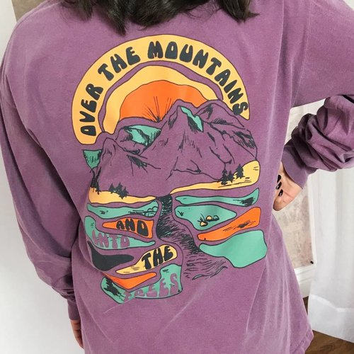 Berry Over the Mountains LS Shirt