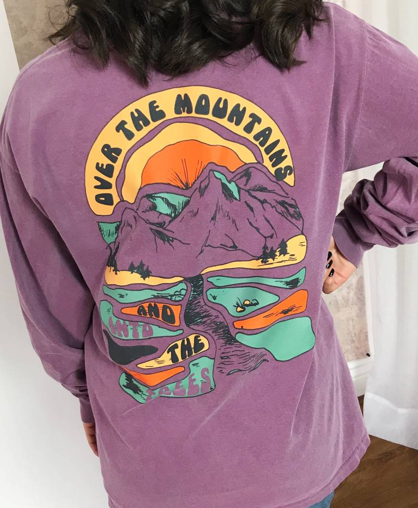 Berry Over the Mountains LS Shirt- SALE ITEM