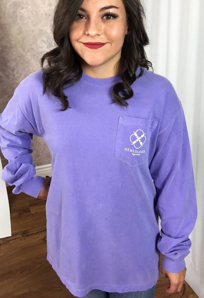 Violet Mandala Logo LS Shirt