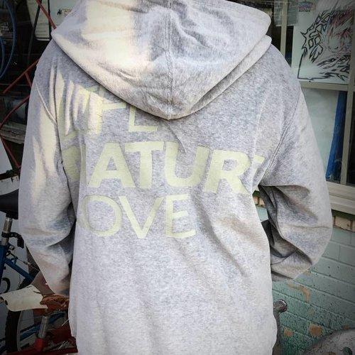 Grey Velvet Life,Nature,Love Jacket