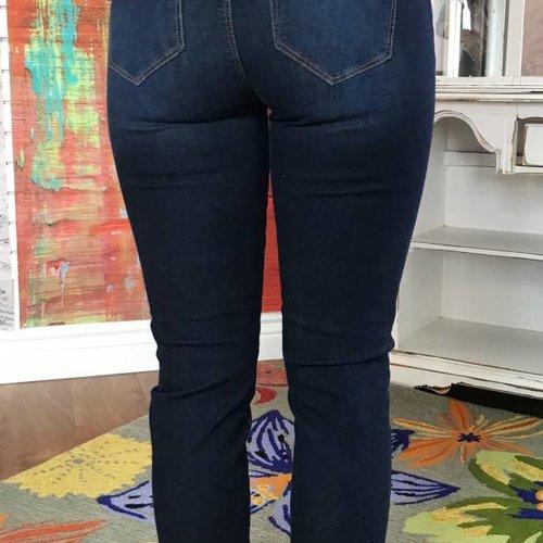 Corvus Dark Denim Skinny Jeans