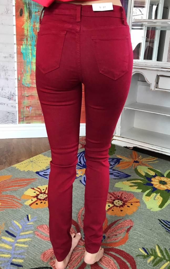 JB Wine Skinny Jeans