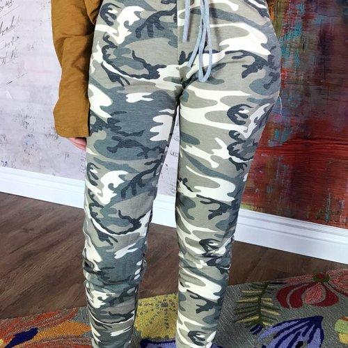Olive Camouflage Jogger- SALE ITEM