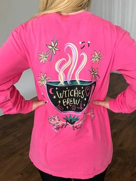 Pink Witches Brew LS Shirt