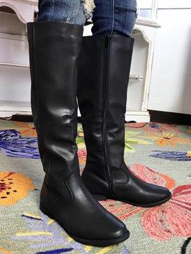Black Classic Riding Boot
