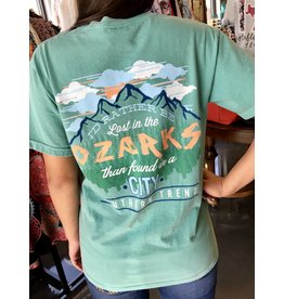 "Teal ""Ozarks"" Graphic T-Shirt"