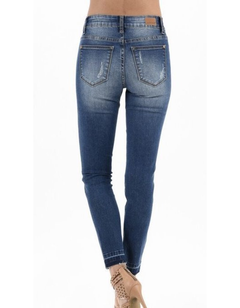 Judy Blue Leopard Patch Skinny Jean