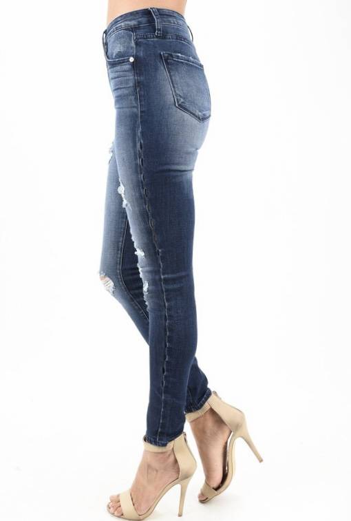 Judy Blue Dark Wash Boyfriend Jean