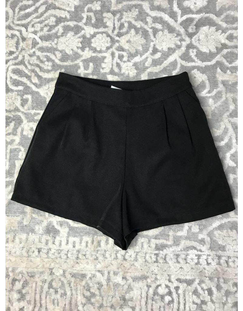 Lillie's Black Layered Short Shorts
