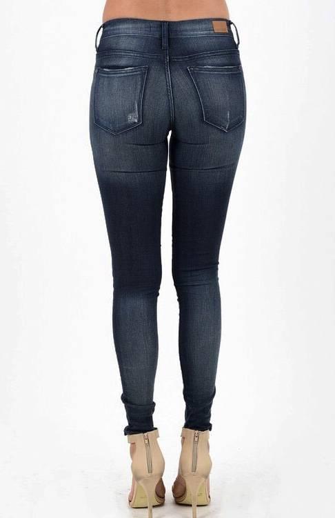 Dark Faded Skinny Jeans