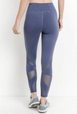 Lillie's Blue Grey Sports Wear Leggings