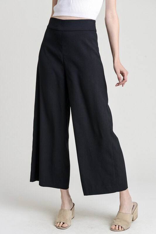 Black Wide Leg Pants- SALE ITEM