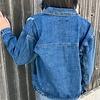 Dark Wash Oversize Denim Jacket